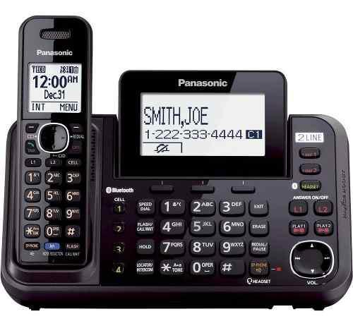 Teléfono inalámbrico panasonic kx tg9541b 2 líneas