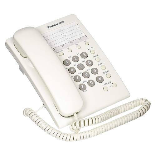 Teléfono panasonic kx-ts550 alámbrico básico unilinea 13