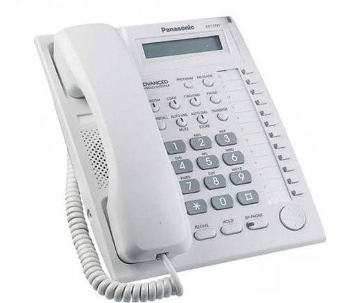 Teléfono programador panasonic kx t7730 (blanco) factura