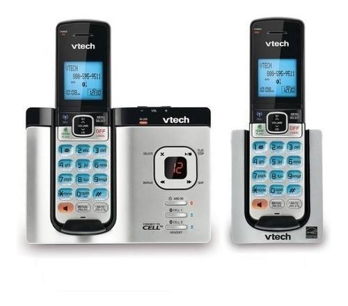 Vtech telefono ds6621-2 con identificador de llamadas