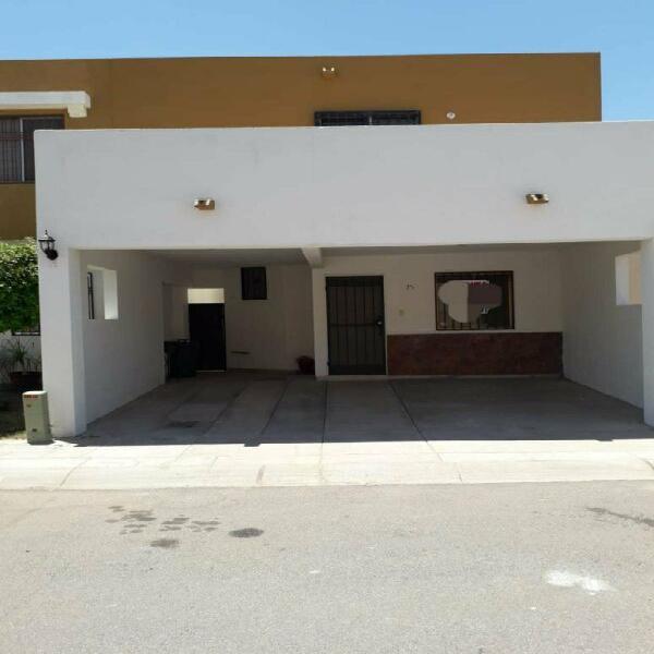 Casa amueblada al norponiente en privada san marcos