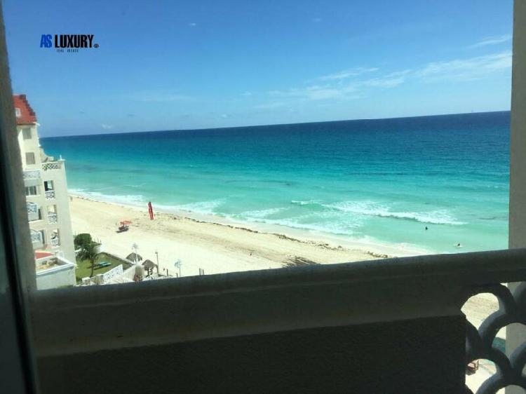 Dos estudios en uno en cancun plaza (zona hotelera) invierte