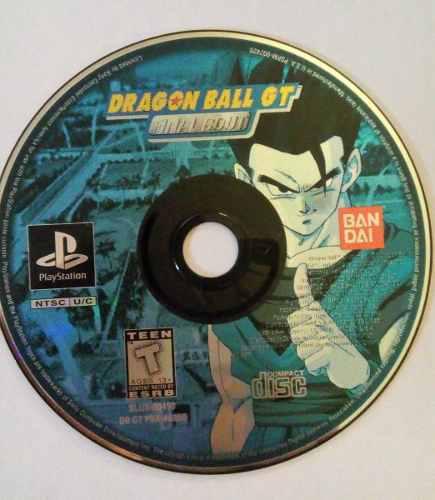 Dragon ball gt final bout ps1 playstation 1 goku dbgt