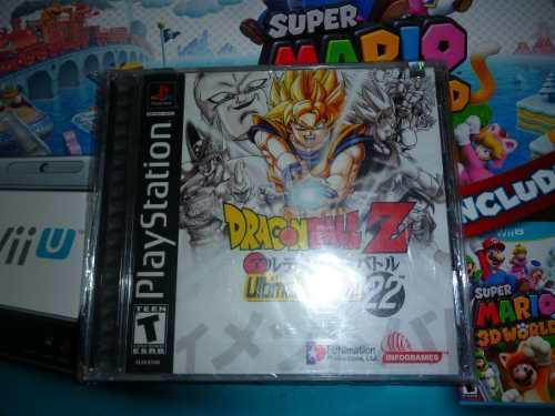 Dragon ball z ultimate battle 22 psone sony nuevo