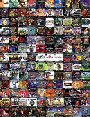 Juegos playstation 1 todos los juegos colección completa