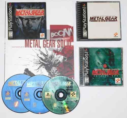 Metal gear ps1, vr missions, libro de arte, metal gear solid