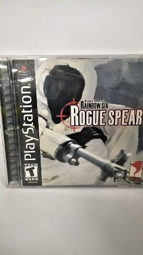 Ps1 tom clancy´s rainbow six rogue spear. fun labs.