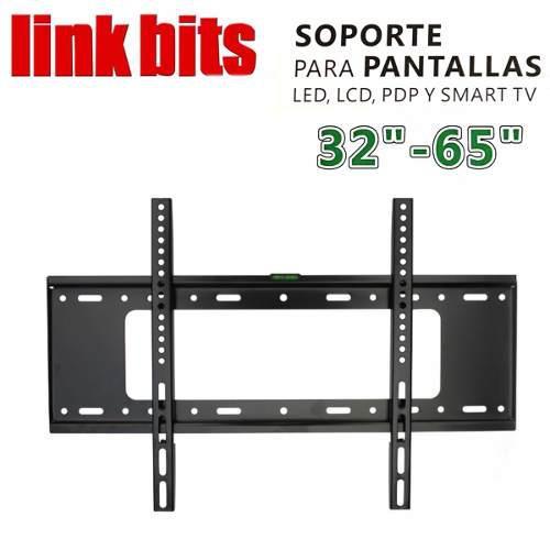 Soporte fijo para pantallas led lcd plasma 32-65 pulgadas