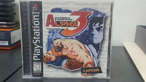 Street fighter alpha 3 ps1 + envio gratis