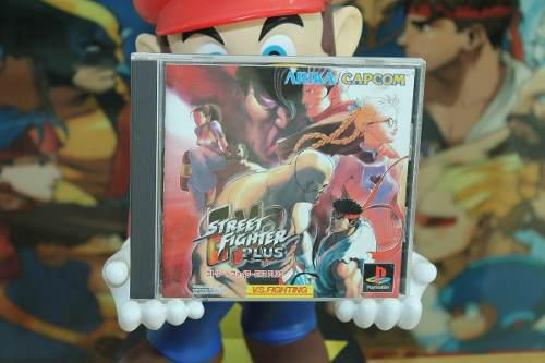 Street fighter ex2 plus playstation 1 japones capcom complet