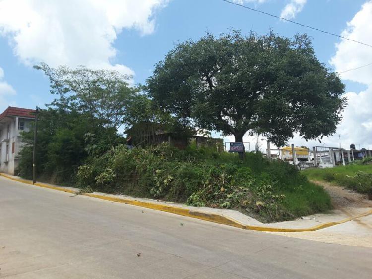 Terreno en esquina de 192 m2 en ixhuatlán del café,