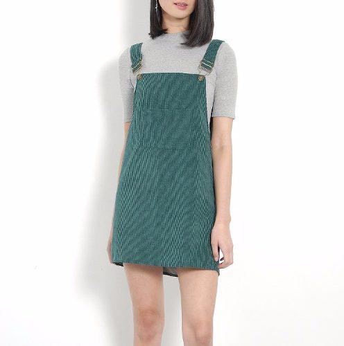 pensamientos sobre Boutique en ligne buscar genuino Vestido Casual Overol Verde Vestidos Casuales Ropa Mujer