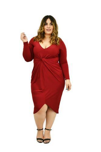 Vestido Rojo Tallas Rebajas Diciembre Clasf