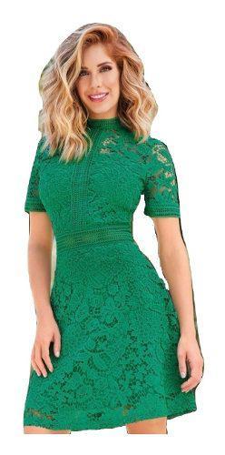 Vestido Verde Rebajas Diciembre Clasf