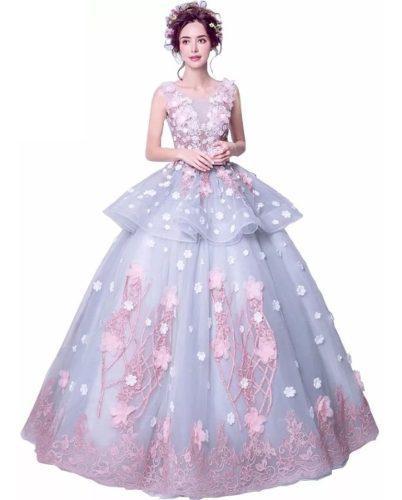 Vestido Xv Años Rosa Envió Gratis Q 026620 En México