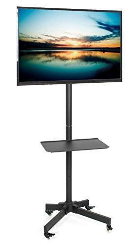 Vivo mobile tv cart para lcd led plasma flat screen panel t