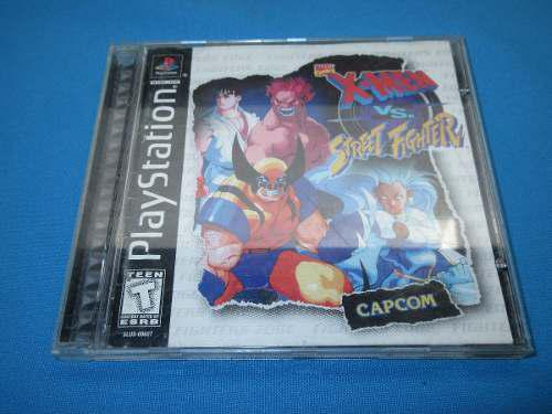X-men vs street fighter ps1