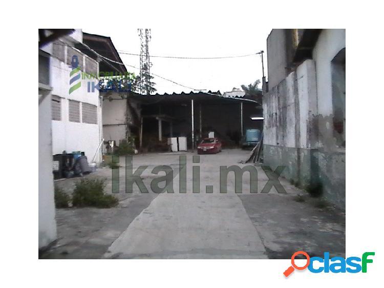 Renta bodega 1323 m² zona centro tuxpan veracruz, tuxpan de rodriguez cano centro