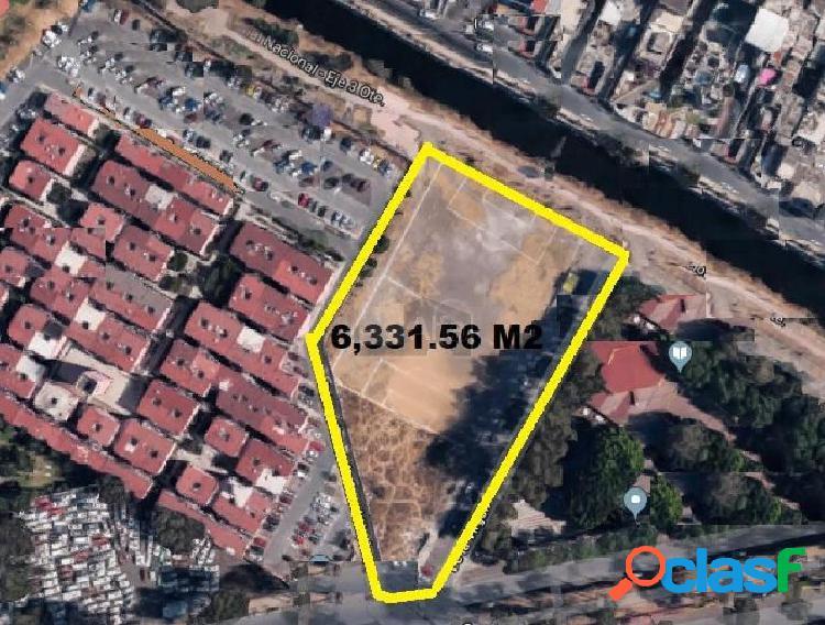Terreno en venta en coyoacan ctm culhuacan, terreno en venta con régimen de propiedad: privada.