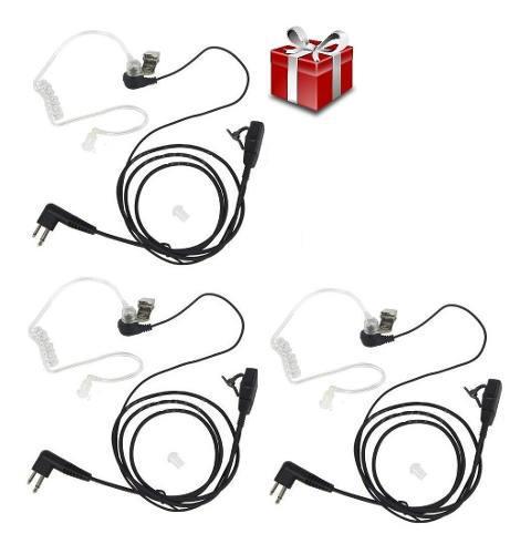 3 motorola chicharo auricular manos libres radios guardias