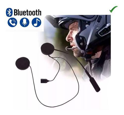Auricular manos libres bluetooth casco moto bocina