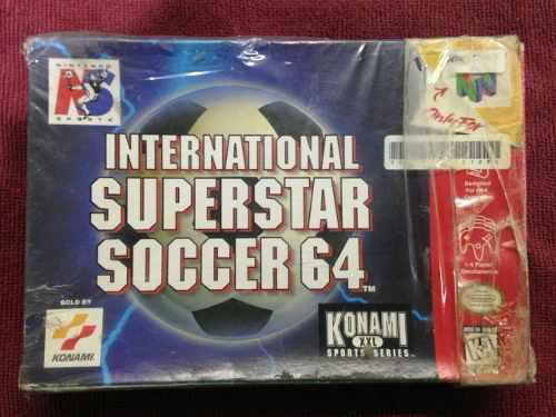 International super star soccer caja n64