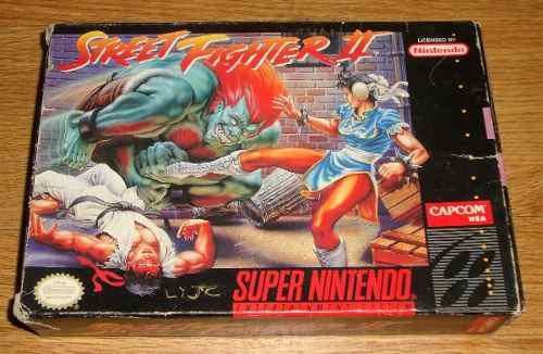 Juego snes street fighter ii super nintendo(ss02016)