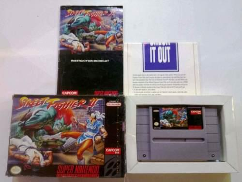 Street fighter 2 ii super nintendo snes retromex tcvg