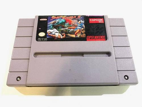 Street fighter 2 snes super nintendo cartucho retromex tcvg