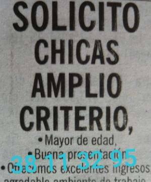 38113295 SOLICITO CHAVAS MAYOR DE EDAD