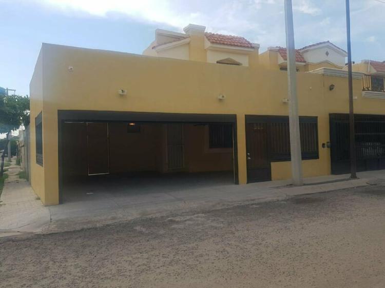 Casa en renta san bernardino residencial hermosillo