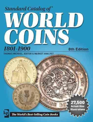 Catalogo de monedas world coins 1801-1900 8th edition