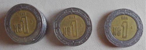 Jgo 3 monedas un 1 nuevo peso 1992 1993 1994