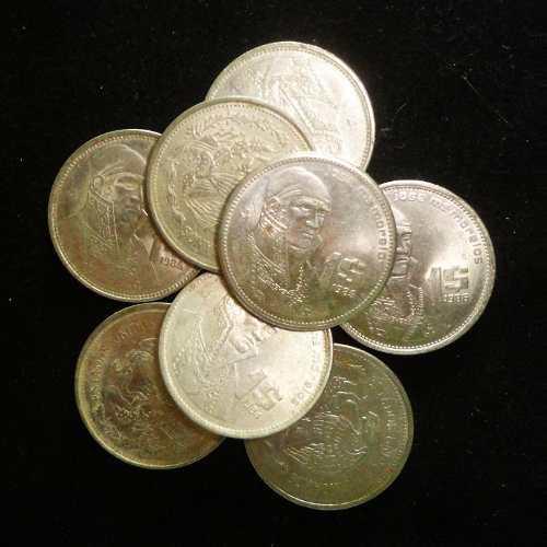 Lote antiguas monedas mexico varias segun descripción