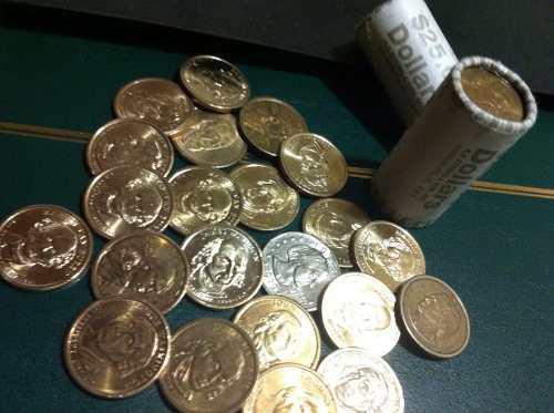 Monedas de presidentes de dolar