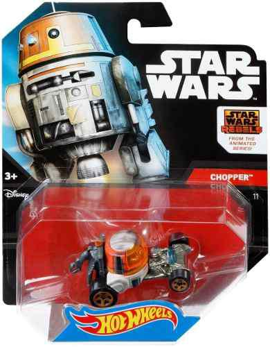 Retromex hot wheels star wars chopper #11