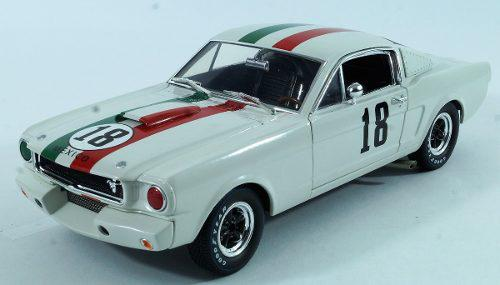 Shelby gt350r 1965 freddy vanbeuren 1:18 shelby collectibles