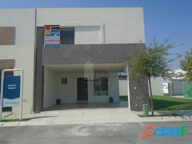 Casa en condominio en venta en anáhuac san patricio, general escobedo, nuevo león