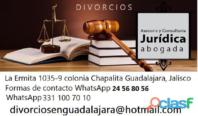 Abogada en guadalajara experta en divorcios al mejor costo