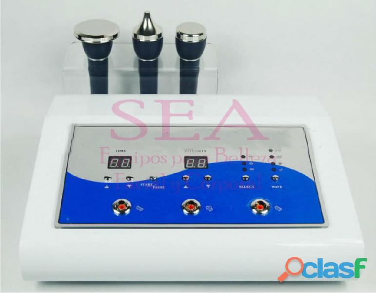 Ultrasonido 3mhz de 3 cabezales medico terapeutico post operatorio spa