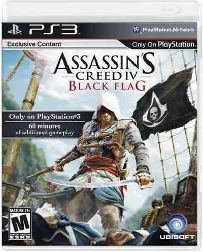 Assassins creed 4 iv black flag ps3 nuevo y sellado juego
