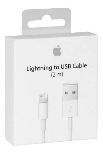 Cable usb lightning 2 metros original ipod ipad iphone