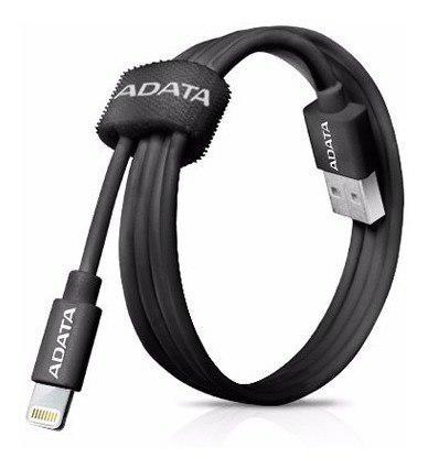 Cable usb lightning adata certificado apple 1m colores