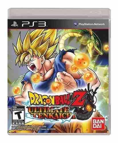 Dragon ball z ultimate tenkaichi ps3 nuevo y sellado juego