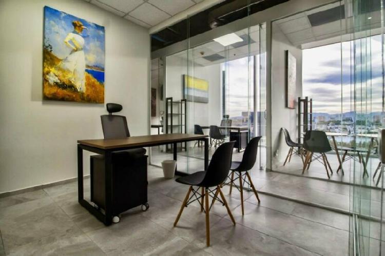 Renta de oficina con todos los servicios incluidos aprovecha
