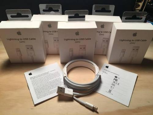 Usb cable apple lightning 2 metros iphone 5 6 6s 7 7+ 8 8+