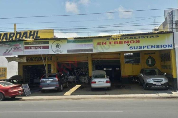 Venta de local comercial grande y terreno en mazatlan