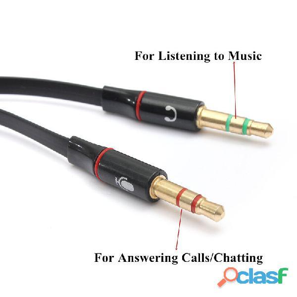 Adaptador Audio Estéreo 3.5 Mm Para Micrófono Y Audifonos 2 4