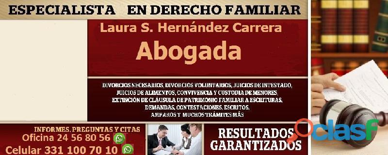 Divorcio en guadalajara voluntario y necesario|abogada familiar