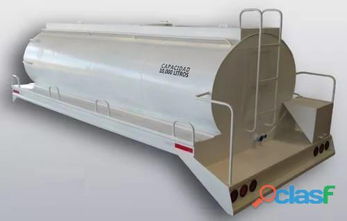 Instalación de pipa para agua de 10,000 lts marca steelhorse